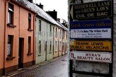 Ireland - business street signs