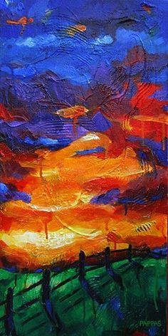 Sunset Row, Julia Pappas