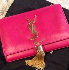 #YSL #pink #bag #fashion #girls #mode #girly