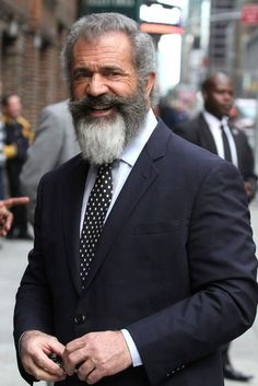 Mel Gibson with a beard=magnificant!