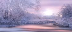 Free Image on Pixabay - Nature, Landscape, Winter Free Pictures, Free Images, Acrylic Painting Inspiration, Winter Scenery, Landscape Pictures, Winter Landscape, Illusions, Fantasy, Fine Art