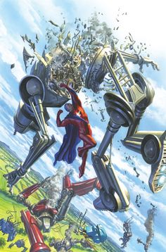 Astro City #14 by ALEX ROSS