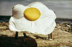 Claes Oldenburg, Fried Egg, 1966-71