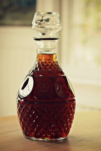 Homemade Amaretto - this is the EASIEST recipe and makes the yummiest amaretto EVER.