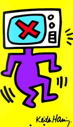 Keith Haring - Crockett Skateboard Deck - Gagosian Gallery