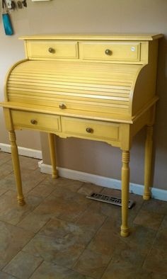 I have a desk similar to this...thinking about painting it a new color