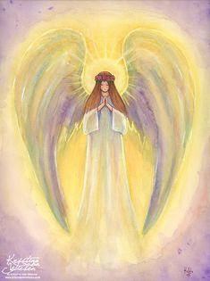 Little Angel by Kristina von Wiesen