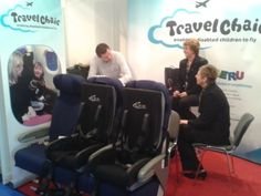 A Child with Disabilities and Her Mom Are Introduced to the TravelChair