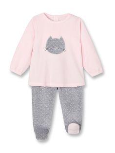 Pyjama velours côtelé à motif - Rose rêve - Nos sélections - Obaïbi    Okaïdi Pyjama. Pyjama FillePyjama BébéReve ... 02b69af9c92