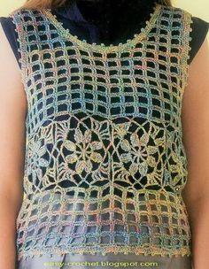 Crochet Sweater: Crochet - Crochet Vest For Women - Simple & Beautiful