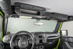 VDP Overhead Storage Console for 87-13 Jeep® Wrangler YJ, TJ, JK & Unlimited JK