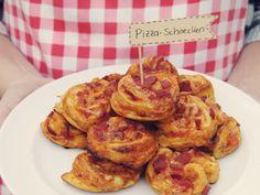 Kuddelmuddel: Partyfood: Pizza-Schnecken