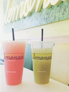 our fav...lemonade // #yum