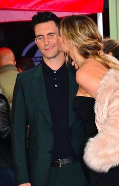 Adam and his wife at the walk of fame. Adam Levine Behati Prinsloo, Adam And Behati, Maroon 5, Relationship Goals, Relationships, Couple Goals, Crushes, Husband, Hollywood