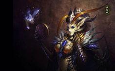 LEAGUE OF ANGELS Fantasy Angel Warrior League Angels Game Loa 6 Wallpaper