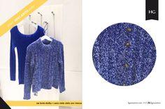 ¡Feliz viernes azul! ¡Mirá el adelanto de la nueva colección! Hacé tu pedido en: http://www.hgsweaters.com/tienda/ Visitanos en: Paso 582 (nueva dirección) Av. Santa Fe 2002 //Venta por mayor y por menor//