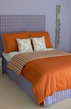 orange and lavender