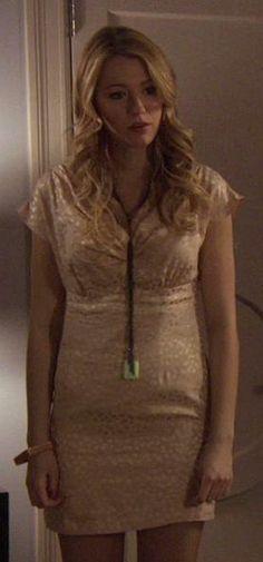 1x16 All About My Brother - Serena van der Woodsen (Gemma Redux Lariat Necklace).