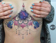 16 Gorgeous Underboob Tattoos For Women