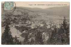 CPA 88 - GERARDMER (Vosges) - 166. Vue Générale avec le Coteau des Xettes - MTIL…