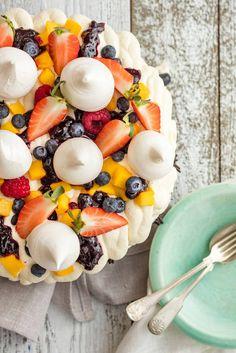 Pavlova, Acai Bowl, Cheese, Breakfast, Desserts, Acai Berry Bowl, Morning Coffee, Deserts, Dessert