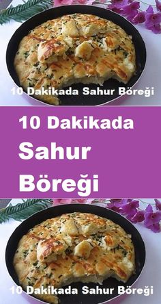 Sahur Pastry in 10 Minutes, Eastern Cuisine, Breakfast Items, Snacks, Iftar, Mashed Potatoes, Chicken, Ethnic Recipes, Food, Garlic