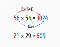truco para multiplicar por dos dígitos