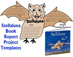 Stellaluna Lesson Plans, Activities, and Fun Projects for Students, Janell Cannon