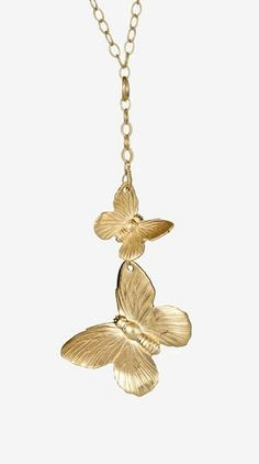 Butterfly Duo Necklace