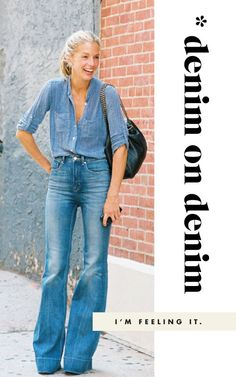 love both pieces, but for the love of coffee don't!! do denim on denim!!!