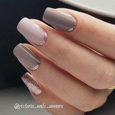 Elegant Nail Design For Real Ladies