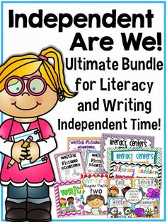 Getting your independent word work and writing folders set up!$