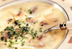 Champignon-crèmesoep recept   Solo Open Kitchen