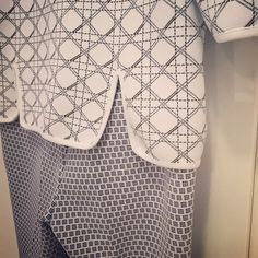 Mixing and matching patterns can work as this Dior outfit in our studio proves http://www.londonfittingrooms.com/fittings-new/