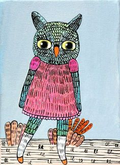 'Owl' by Krissy McLean