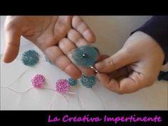Tutorial Uncinetto: Orecchini in filo metallico | DIY Wire Crochet Earrings