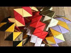 origami bracelet - YouTube