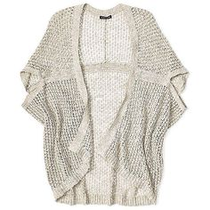 Petite Short-Sleeve Kimono Cardigan in Malibu Linen Cotton Net ($278) ❤ liked on Polyvore featuring tops, cardigans, outerwear, sweaters, white kimono, petite tops, petite cardigans, white short sleeve cardigan and linen cardigan