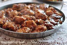 The Amish Cook:   Gloria's Honey Sesame Chicken