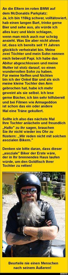 An die Eltern im roten BMW auf dem McDonalds Parkplatz | DEBESTE.de, Lustige Bilder, Sprüche, Witze und Videos