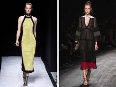 As temporadas de moda contaram o que vai bombar este ano e nós mostramos como adaptar os desfiles para vestidos de madrinhas