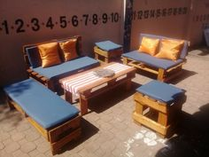 The best outdoor party furniture hires Gauteng Pallet Ottoman, Pallet Sofa, Pallet Furniture, Pallet Designs, Party Lights, Night Life, South Africa, How To Memorize Things, Outdoor