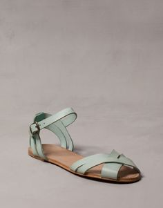 LEATHER STRAP SANDALS - WOMEN'S SHOES - SHOES - United Kingdom
