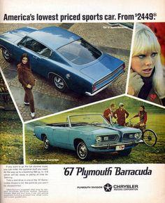 Plymouth Barracuda - 1967