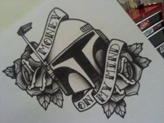 """Tattoo idea: ease up on the flowers, replace text with """"He's no good to me dead"""""""