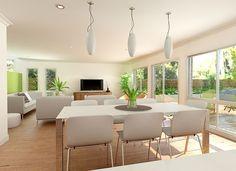 Sekisui House Australia Designs - Luzia 315 Open Plan Living