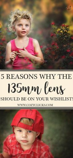 5 Reasons Why The 135mm Lens Should Be On Your Wishlist!   Are a photographer that is trying to figure out what lens you should purchase next? It�s a big decision, I know! Camera lenses are expensive and an investment. Different lenses will give you d