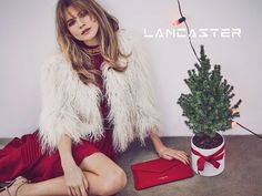 French leather goods brand Lancaster has recently launched its Christmas 2015 campaign starring Behati Prinsloo. The Victoria's Secret Angel poses with a mini Christmas tree in a bow adorned pot while taking a tour around the city. Photographed by Guy Aroch and styled by Anya Ziourova, Behati looks as stylish as ever with her hair in …