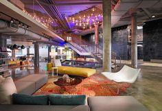 Aloft South Beach Lobby Interiors