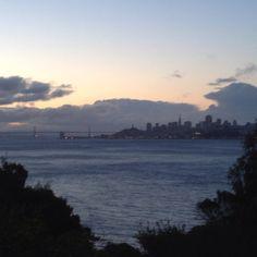 Nice morning for a run in San Francisco!